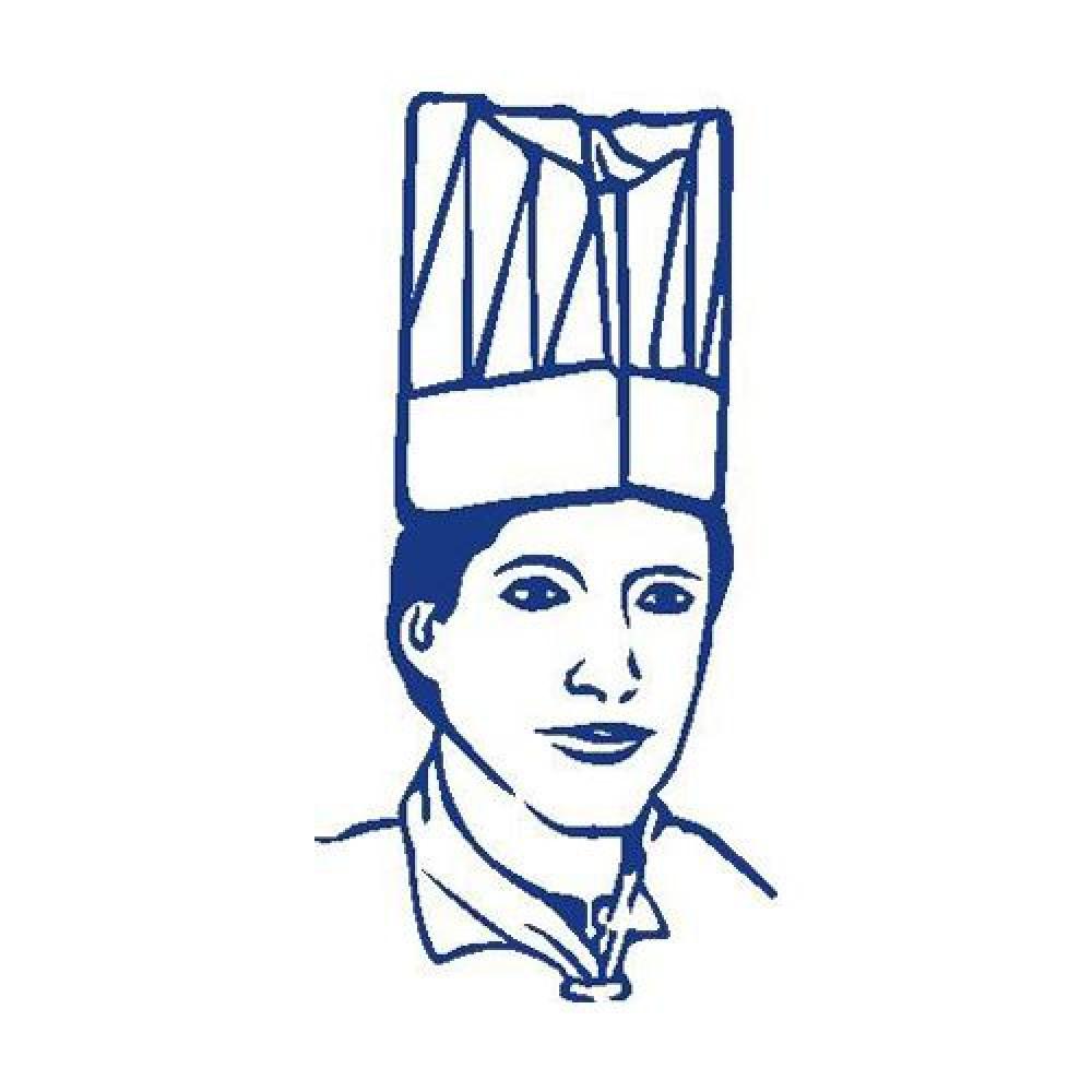 Kuchárske čiapky vysoké biele 24 cm