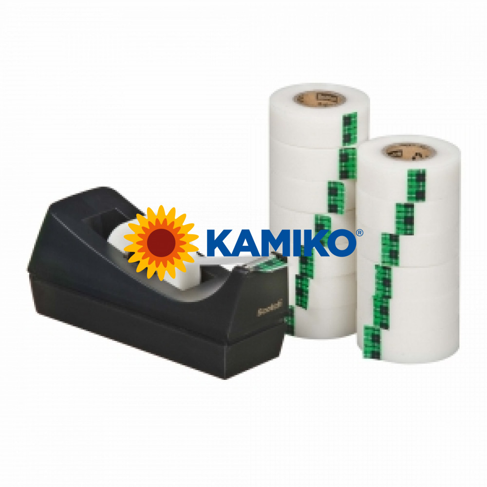 Lepiaca páska Scotch Magic neviditeľná 19 mm x 33 m, 14 ks + dispenzor zdrama