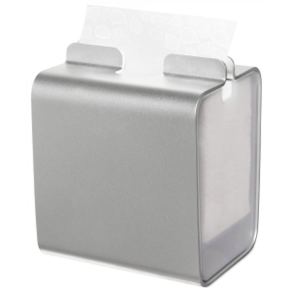 Zásobník servítok TORK XPR stolový vo farbe hliník