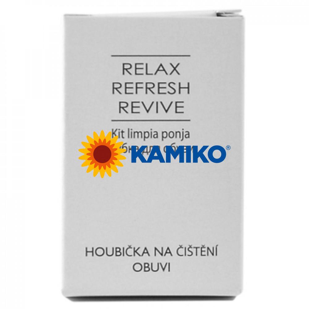 Leštiaca hubka Relax Refresh Revive na topánky