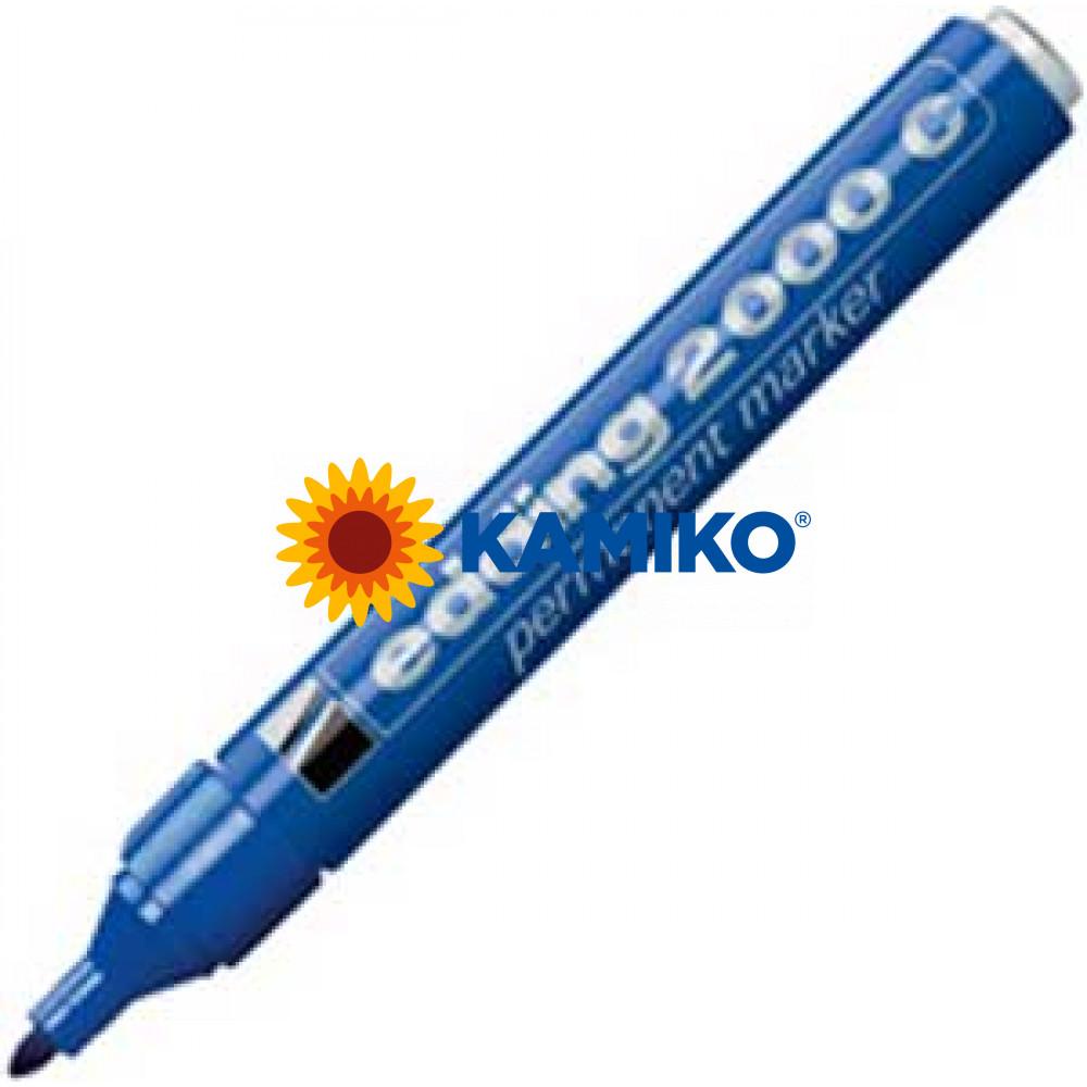 Permanentný popisovač edding 2000C modrý