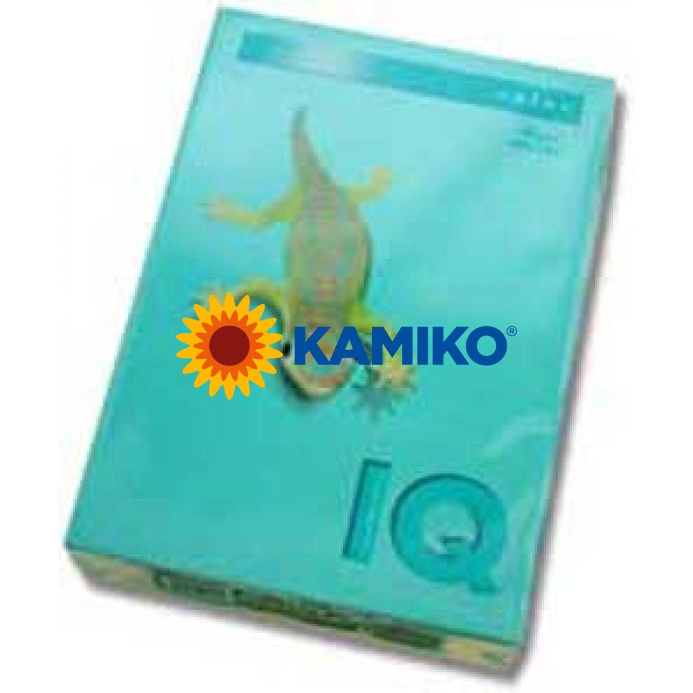Kopírovací papier 80g A4 IQ color azúrovo modrý AB48