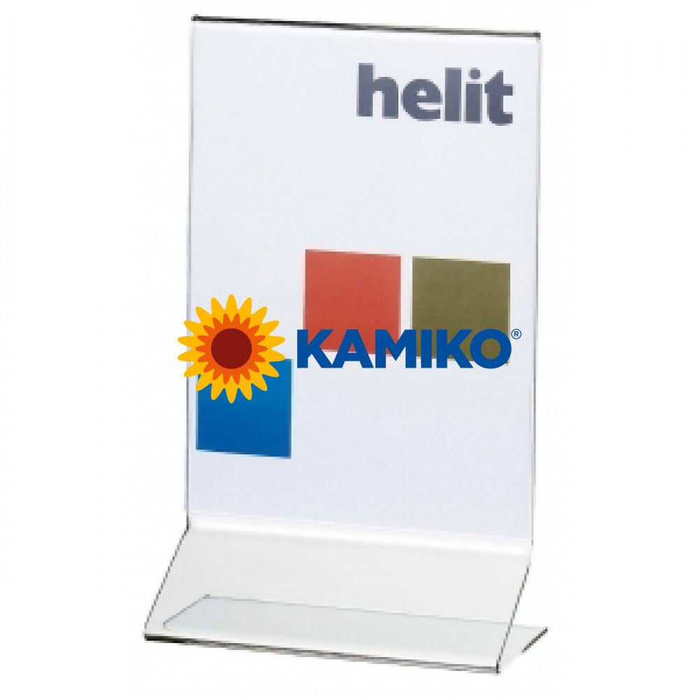 Prezentačný stojan Helit kolmý A5