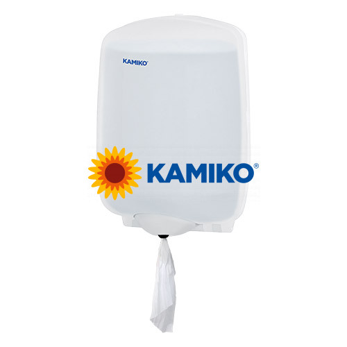Zásobník papierových roliek KAMIKO MAXI Centerfeed, QTS transparentný