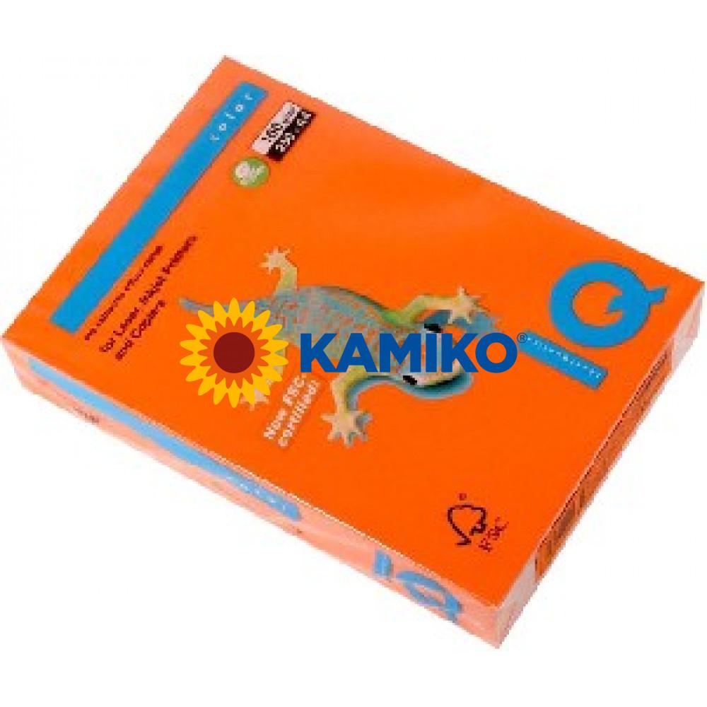 Kopírovací papier 160g A4 IQ color oranžový OR43