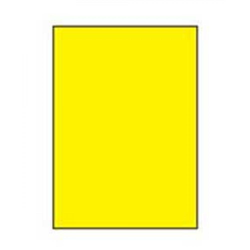 Etikety univerzálne 210x297 žlté