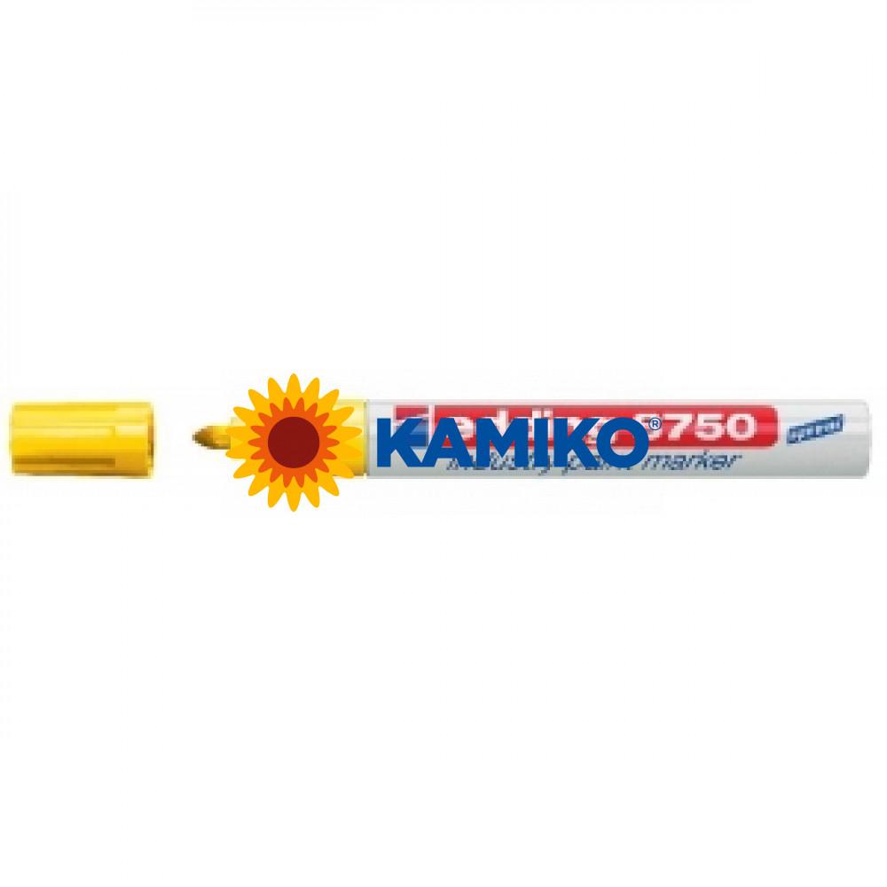 Lakový popisovač edding 8750 žltý