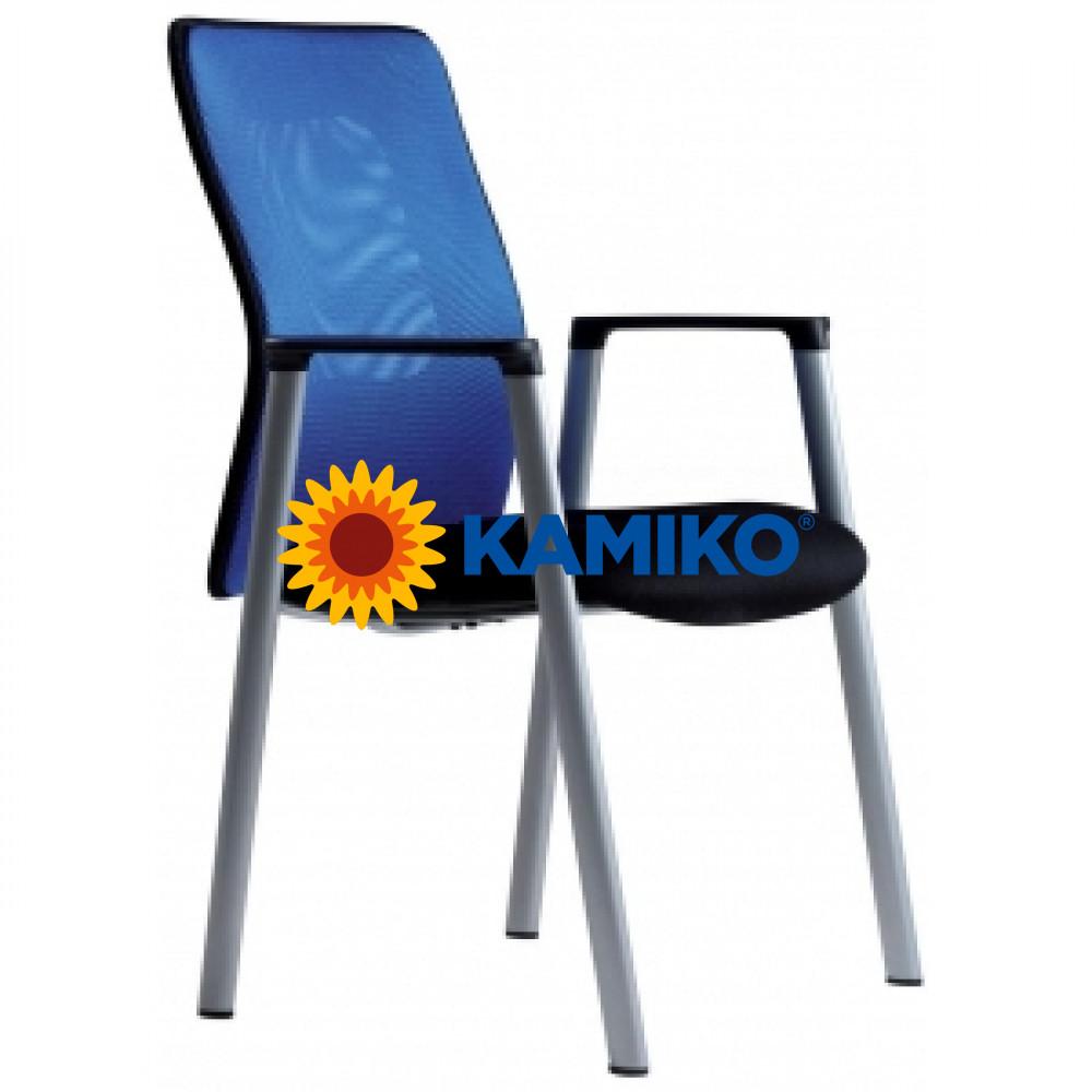 Rokovacia stolička CALYPSO MEETING modrá 14A11
