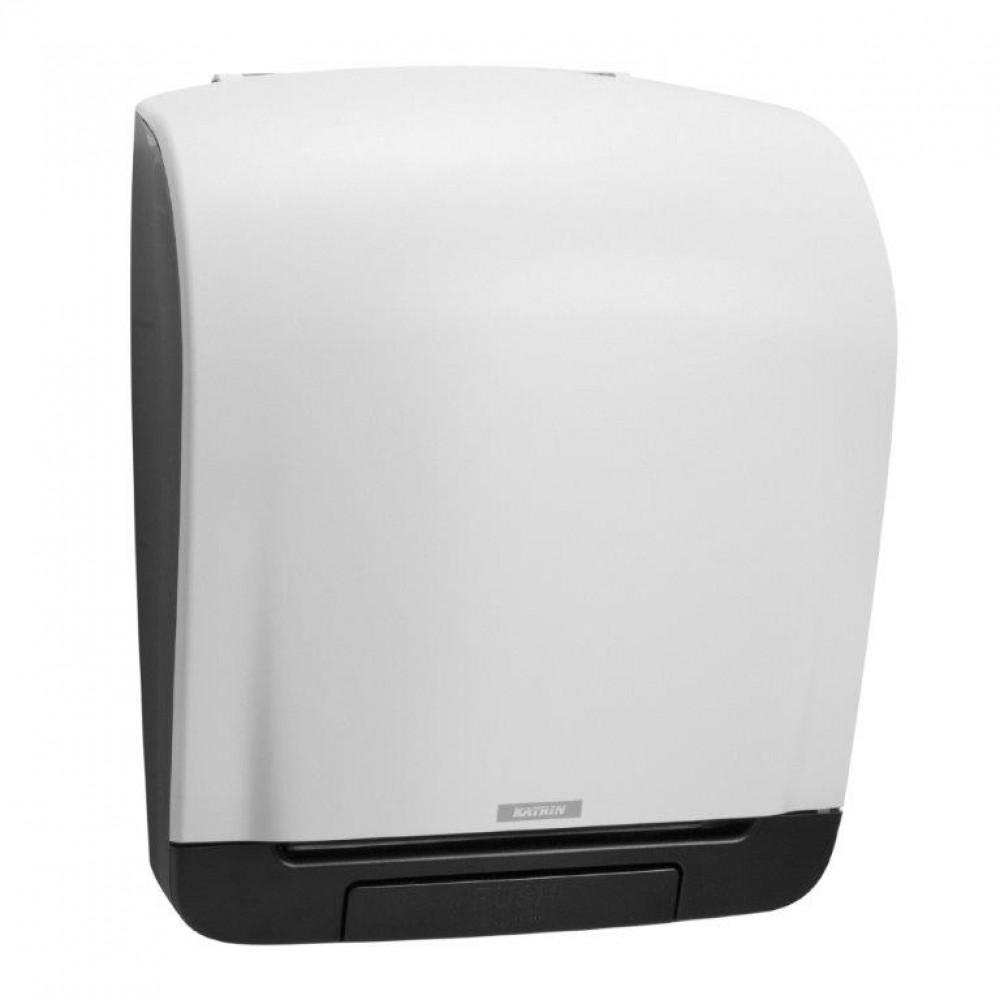 Zásobník papierových roliek KATRIN SYSTEM mechanický biely