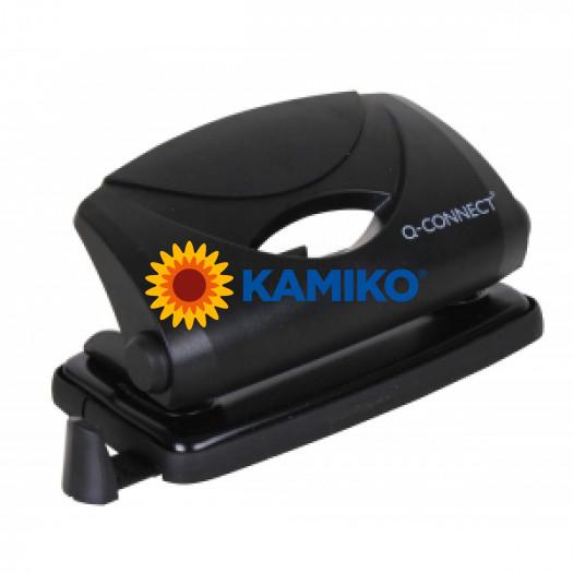Dierovačka Q-Connect  KF01233 čierna na 8 listov