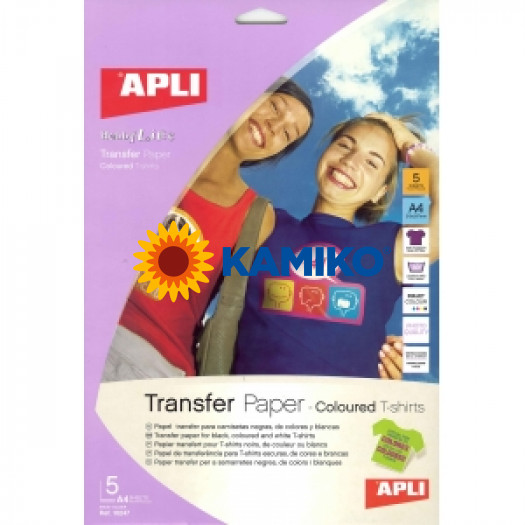 Transferový papier na farebné tričká