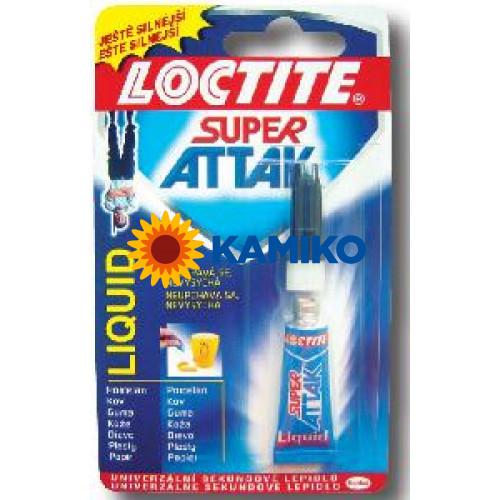 Sekundové lepidlo Loctite Super Attak 3g