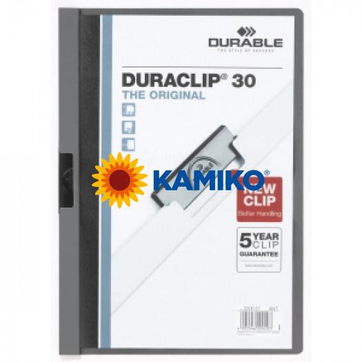 DURACLIP Original 30 antracitový