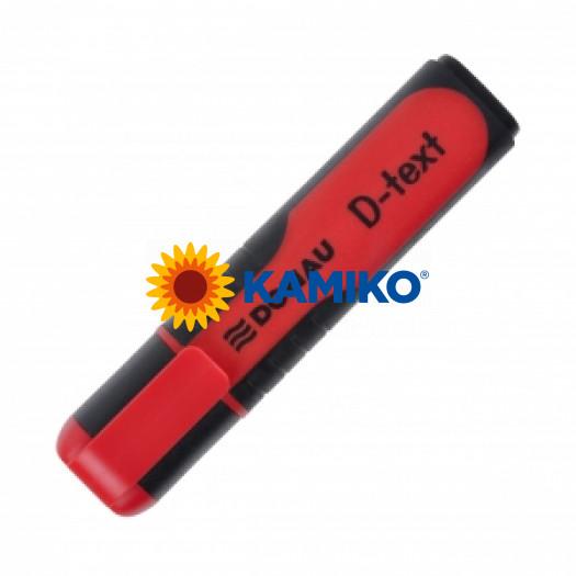 Zvýrazňovač DONAU D-text červený