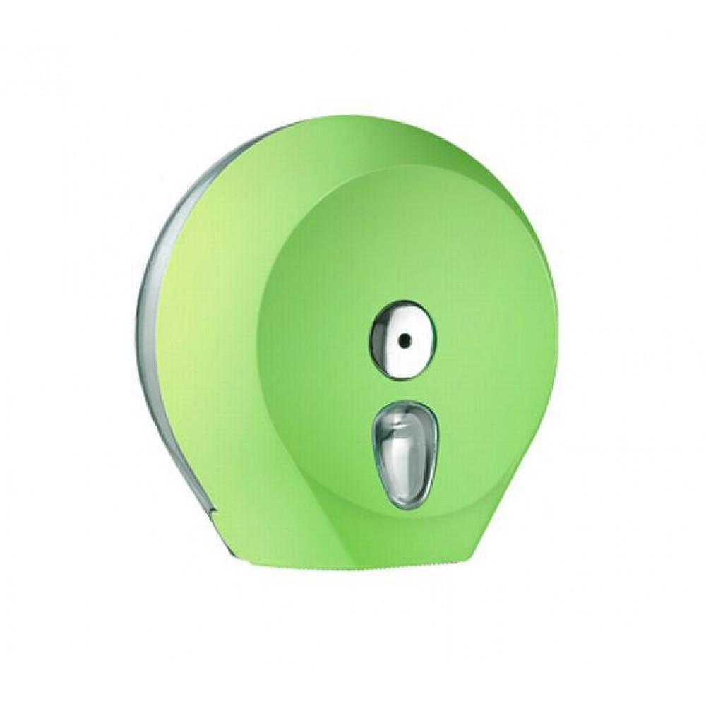 Zásobník toaletného papiera COLORED Jumbo 23 cm, zelený