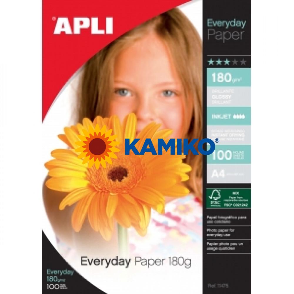 Fotopapier APLI A4 Everyday 180 g, 20 hárkov