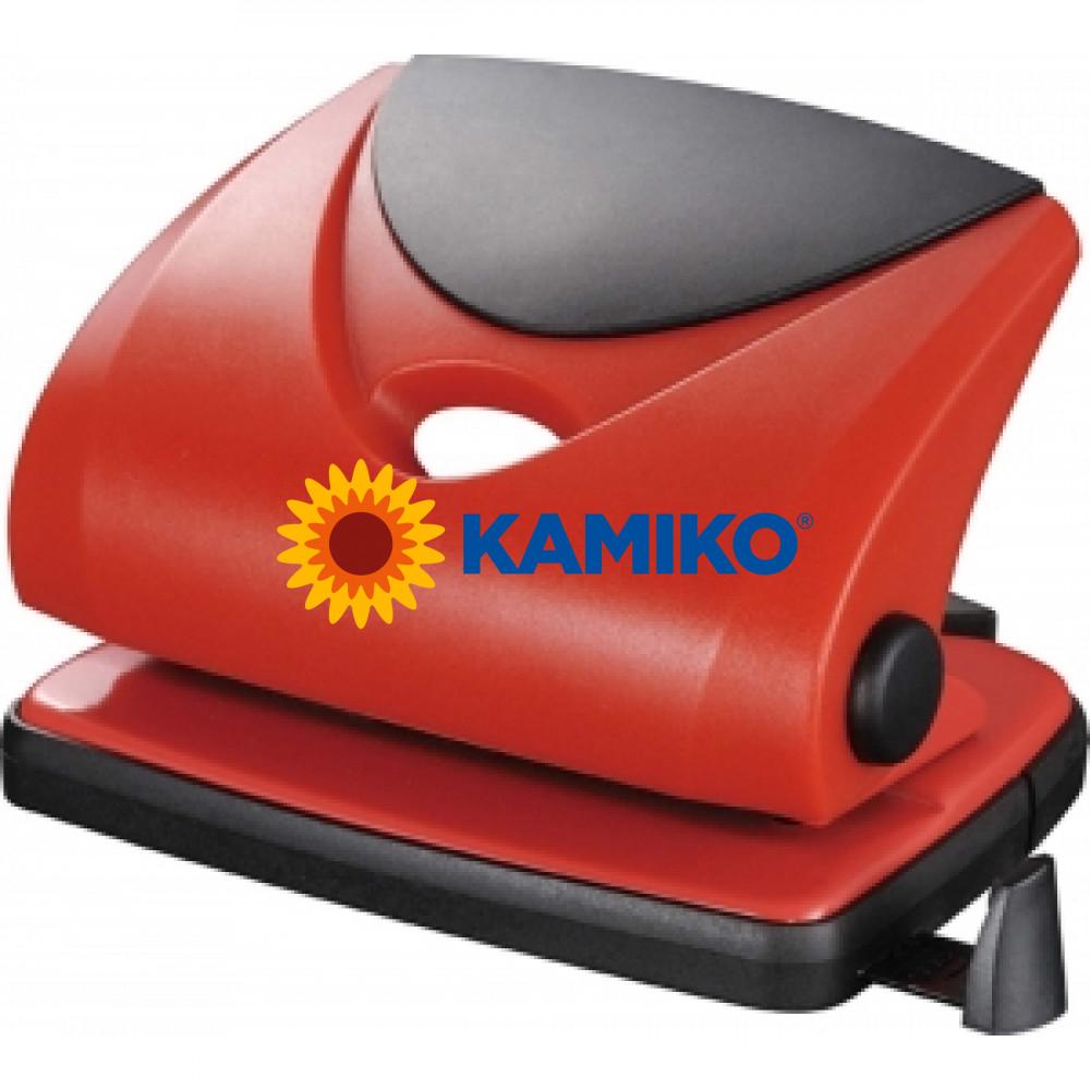 Dierovačka  Q-Connect KF02156 červená na 16 listov