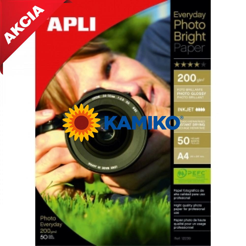 Fotopapier APLI A4 Bright 200 g, 50 hárkov