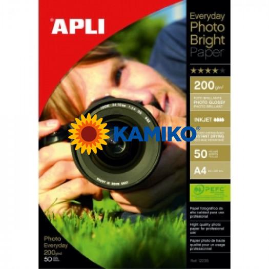 Fotopapier APLI A4 Bright 200g, 50 hárkov