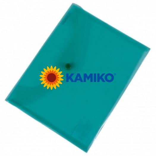 Plastový obal C5 zelený Donau (KP235500)