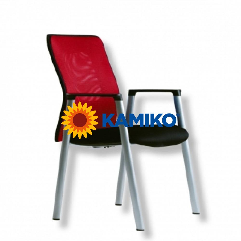 Rokovacia stolička CALYPSO MEETING červená
