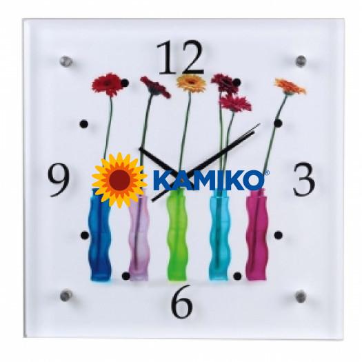 Nástenné hodiny Flowers