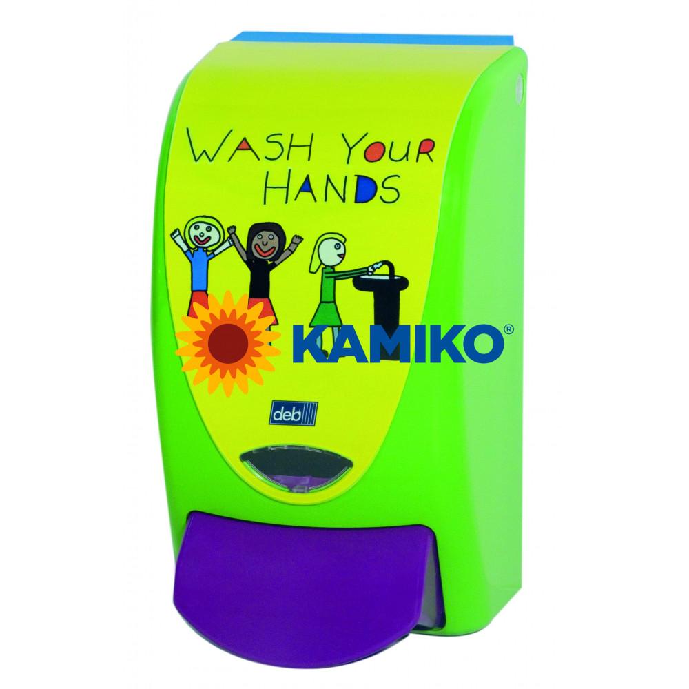 Dávkovač peny DEB Pro Line Soapy, detský, zelený