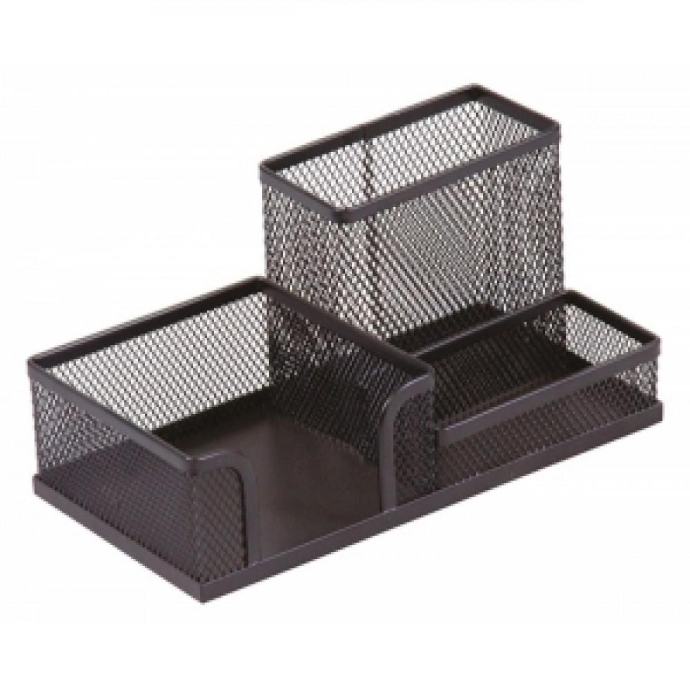 Drôtený stojan kombinovaný čierny 205x103x98mm