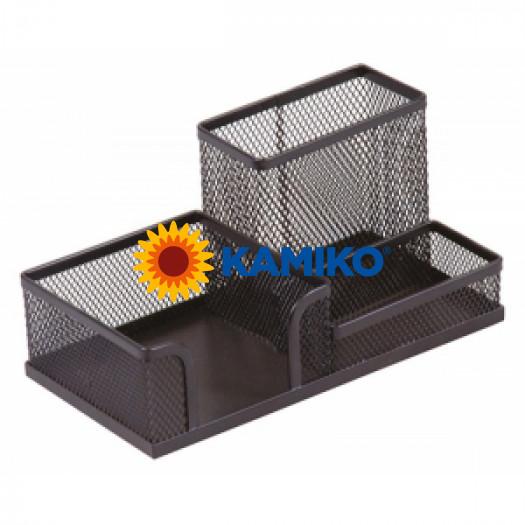 Drôtený stojan kombinovaný 205 x 103 x 98 mm čierny