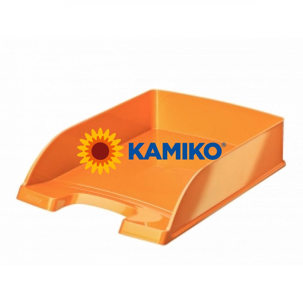 Kancelársky odkladač WOW metalický oranžový