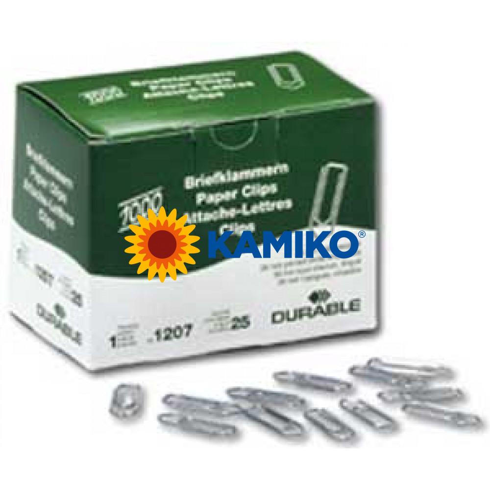 Spisové spony 26 mm zinkové 1000 ks