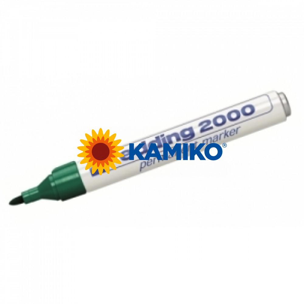 Permanentný popisovač edding 2000C zelený
