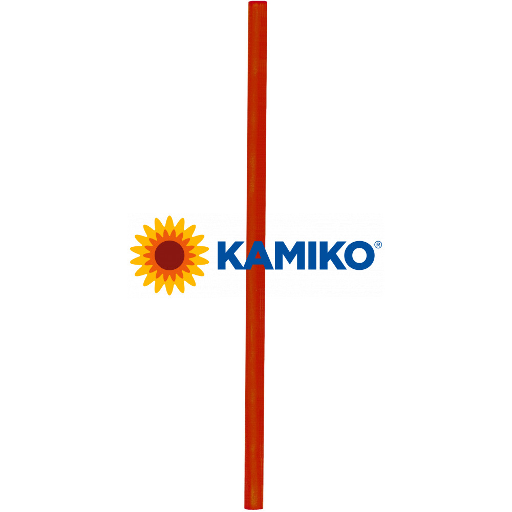 Slamky JUMBO, 25 cm, pr. 8 mm, červené