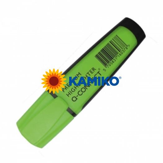 Zvýrazňovač zelený Q-CONNECT Premium