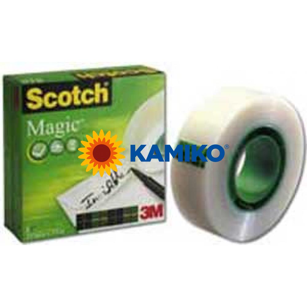 Lepiaca páska Scotch Magic v krabičke neviditeľná 12 mm x 33 m