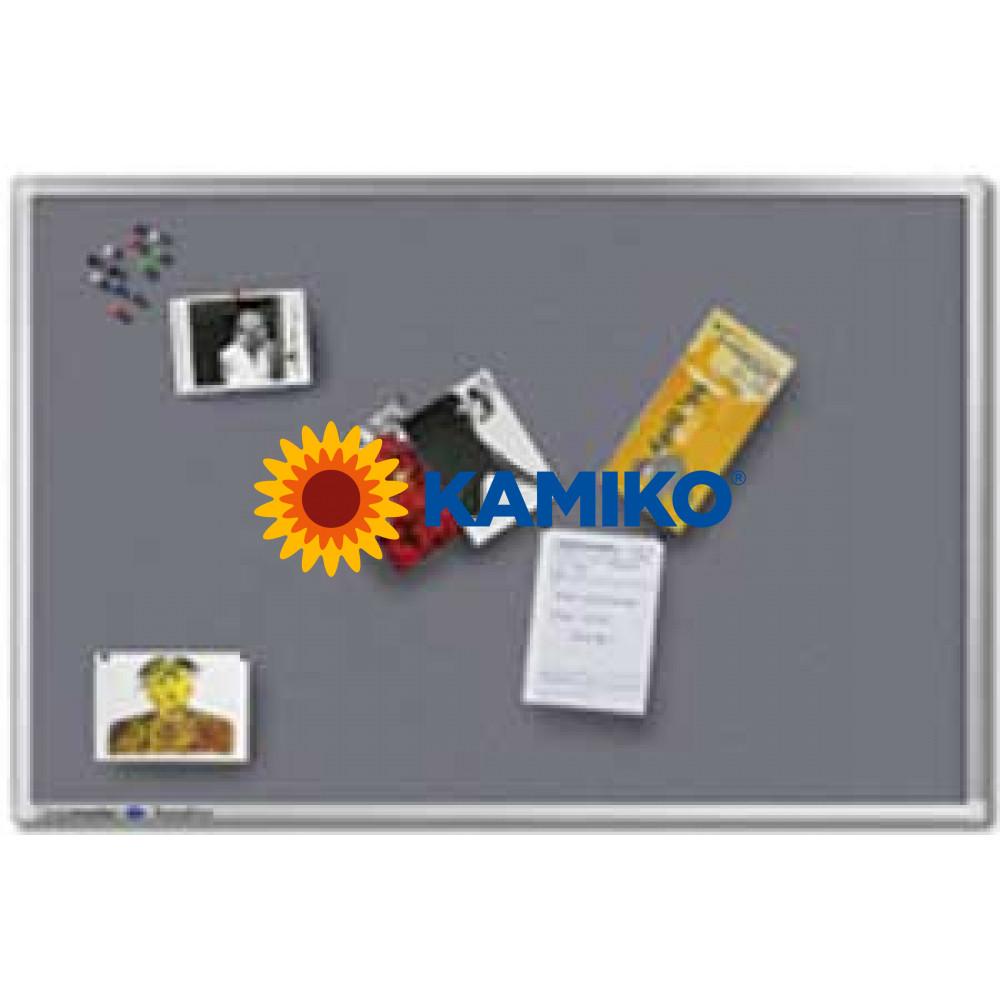 Tabuľa napichovacia PREMIUM 100x150 cm sivá