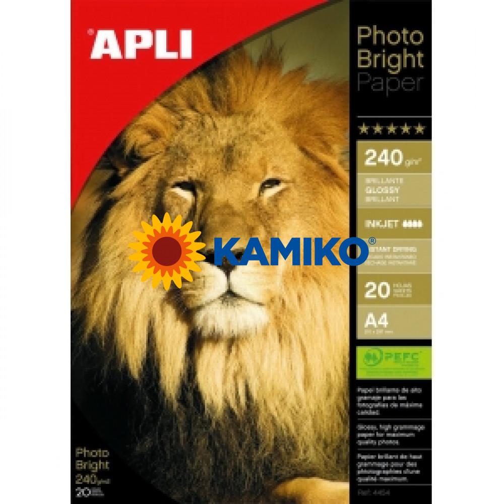 Fotopapier APLI A4 Bright 240g, 20 hárkov