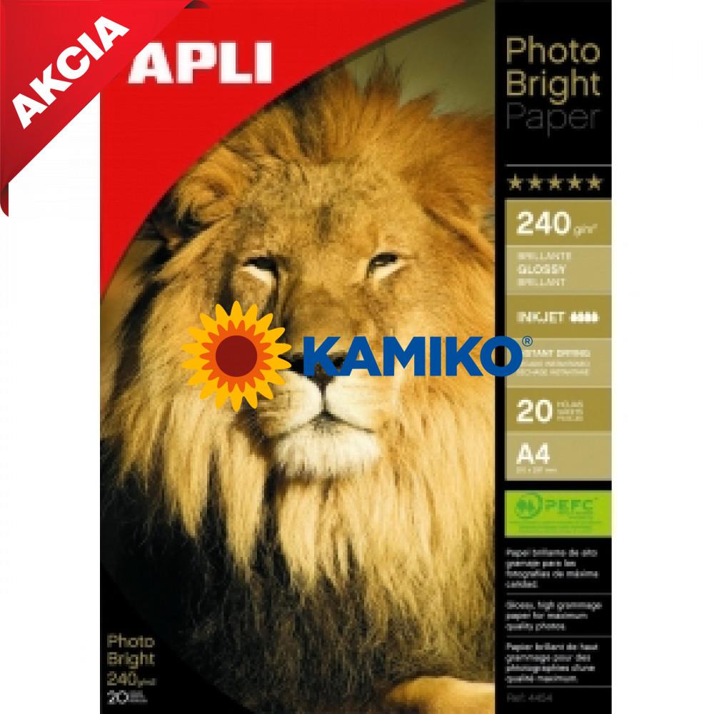 Fotopapier APLI A4 Bright 240 g, 20 hárkov
