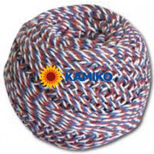 Špagát trikolora 40 g, 63 m, (200x3), 1,25 mm