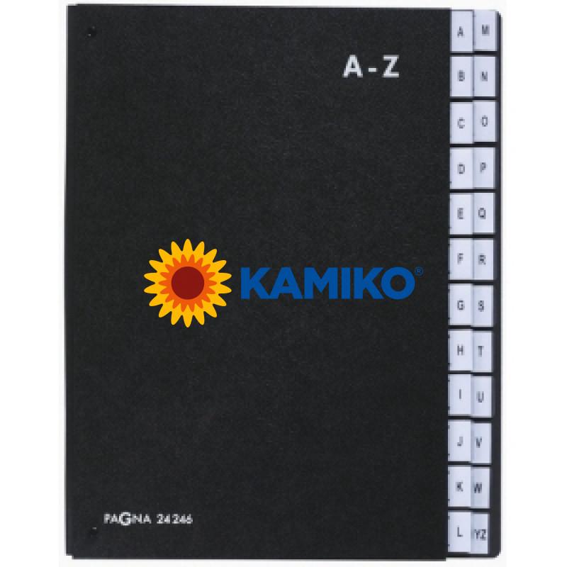 Pultová triediaca kniha A-Z