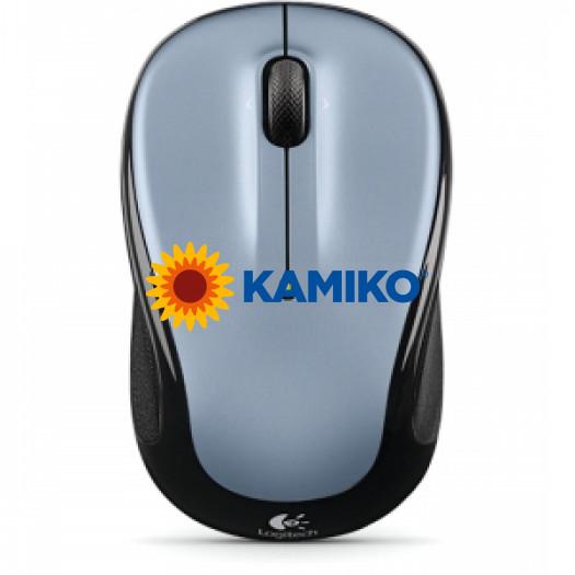Bezdrôtová myš  Logitech M325 sivá