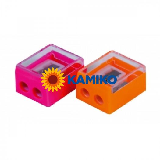 Strúhadlo plastové dvojité mix farieb