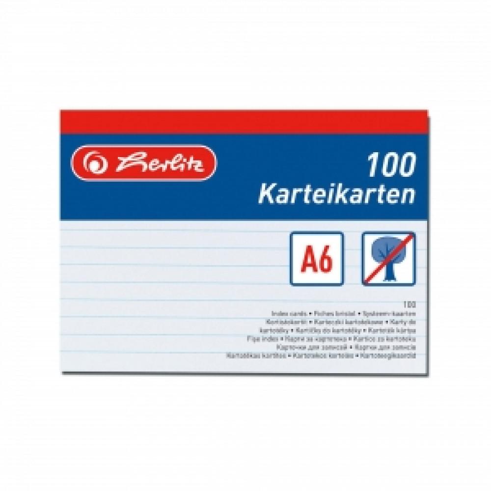 Papierové indexové kartičky A6