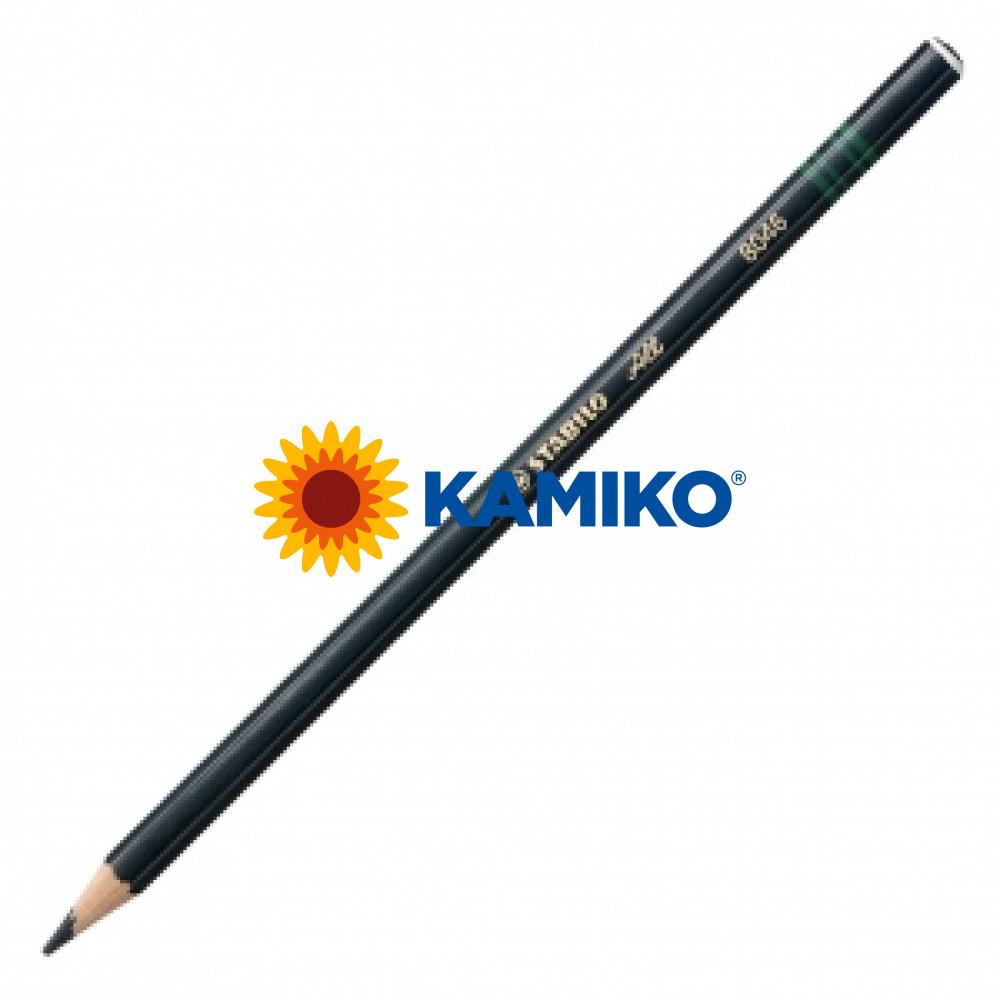 Farebná ceruzka STABILO All čierna 12 ks