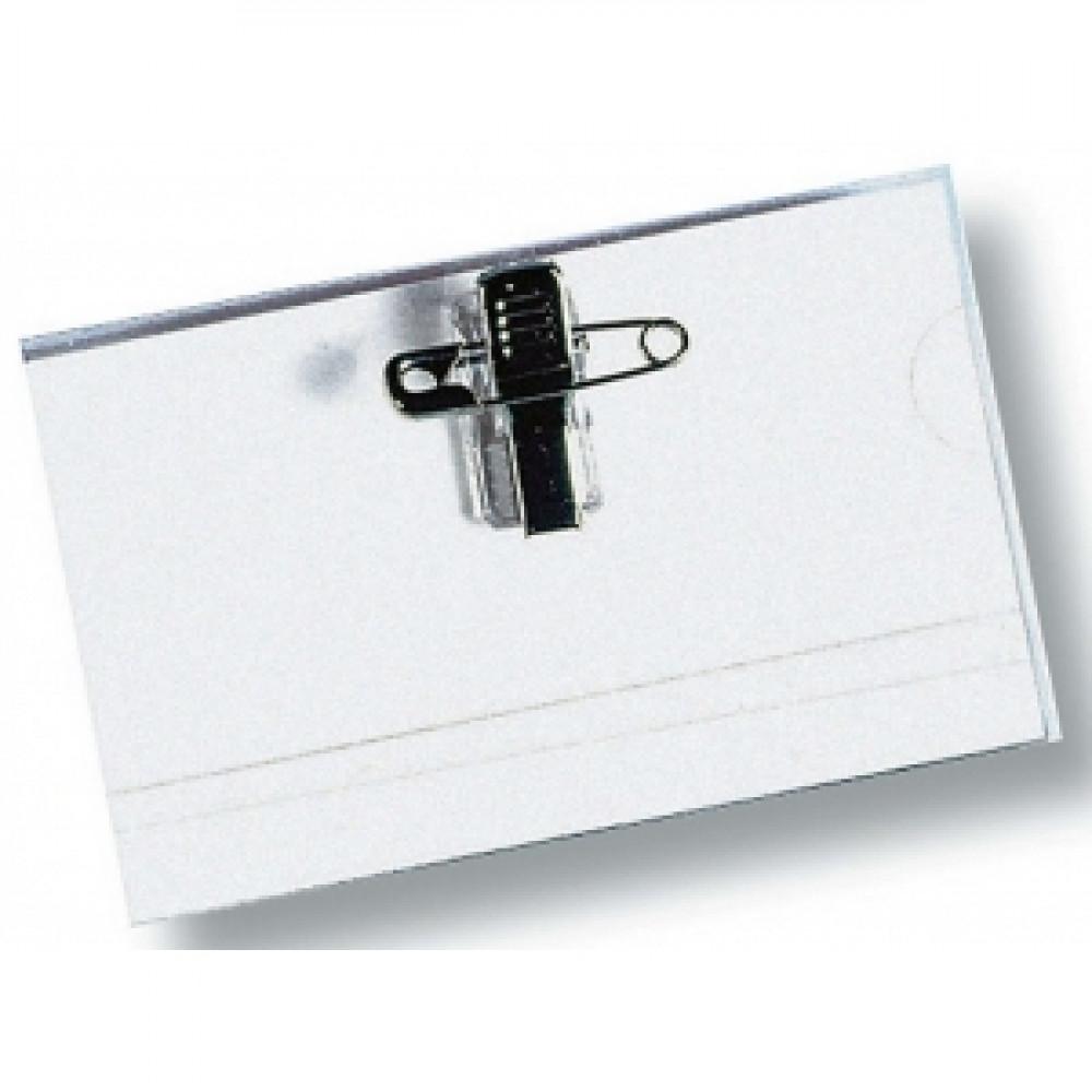 Visačka so štipcom a špendlíkom 90x54 mm 5 ks