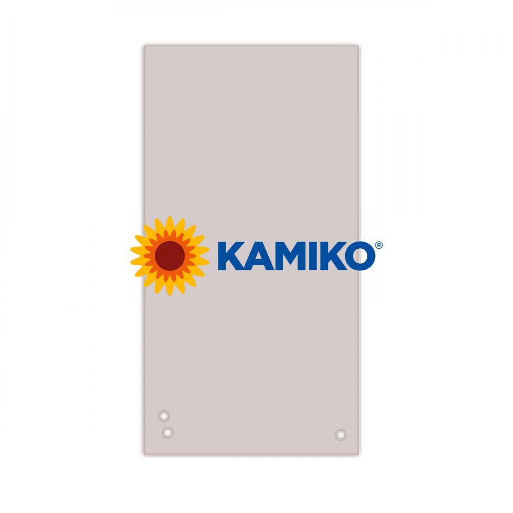 Kartónový rozraďovač úzky sivý 105x235mm