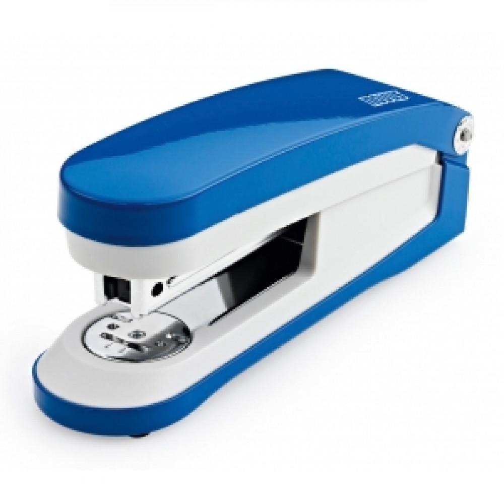 Zošívačka Novus E30 modrá/sivá
