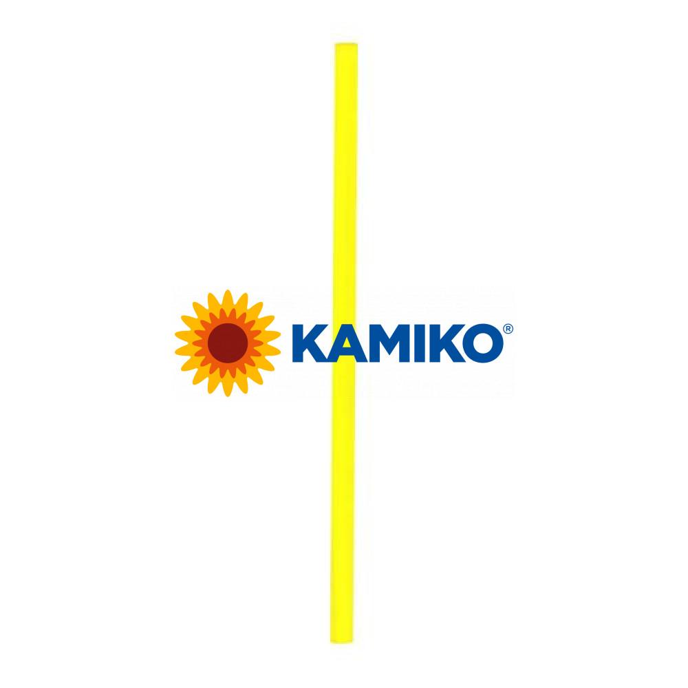 Slamky JUMBO, 25cm, pr. 8 mm, žlté