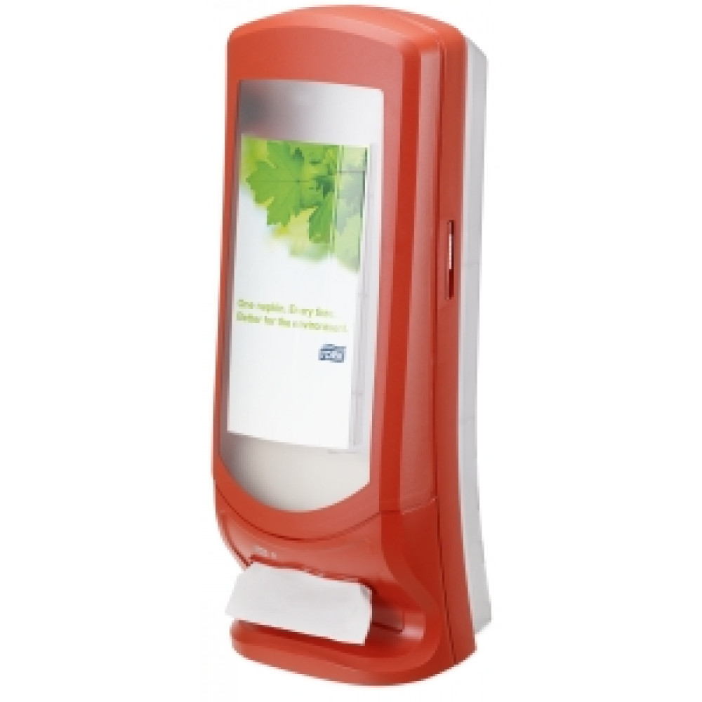 Zásobník servítok TORK XPR vysoký červený