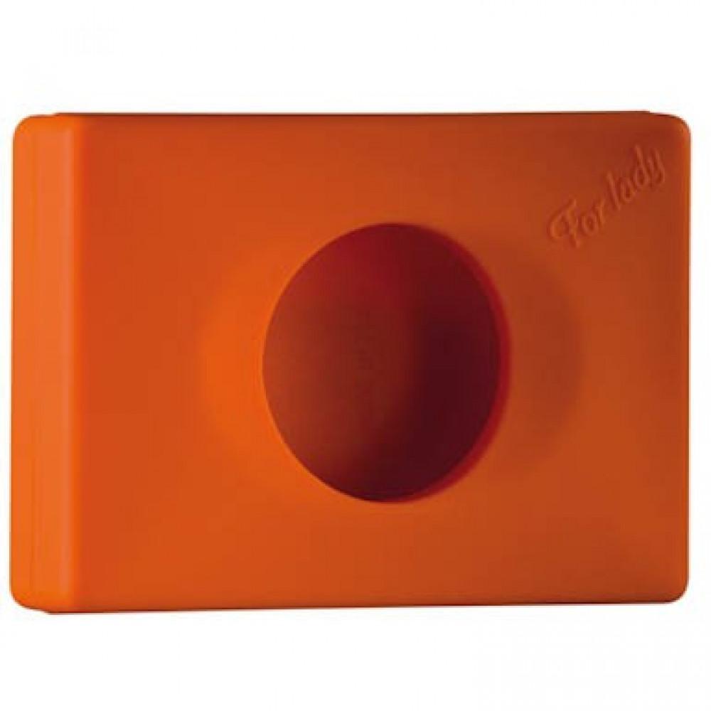 Zásobník na hygienické vrecká COLORED EDITION, oranžový